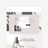 Tessa | Showit Template