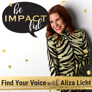 Find Your Voice with Aliza Licht