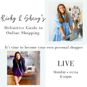 Rivky & Shevy's Definitive Guide to Online Shopping
