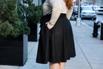 Load image into Gallery viewer, The Most Perfect Pleated Skirt (Black)