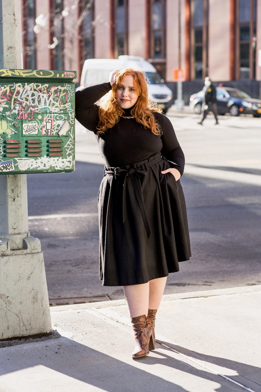 The Most Perfect Pleated Skirt (Black)