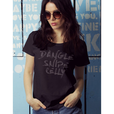 Dangle Snipe Celly Womens Tee