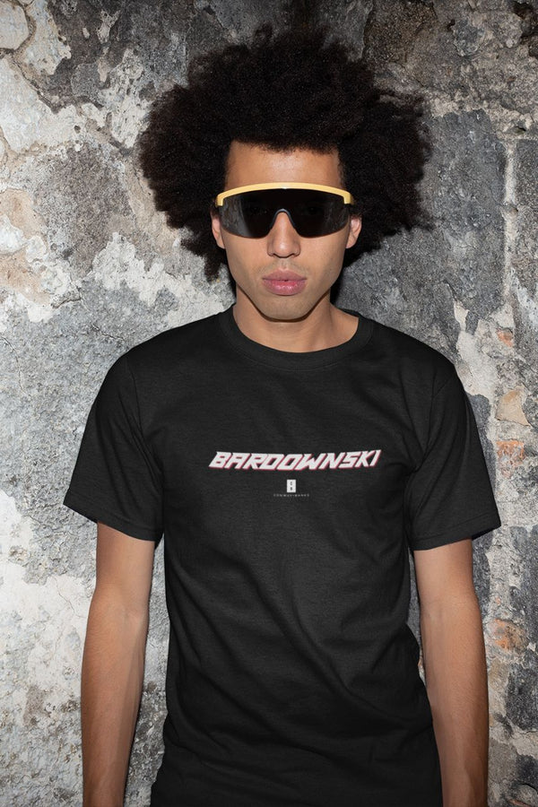 Mens Bardownski Core Tee Black - Conway + Banks Hockey Co.
