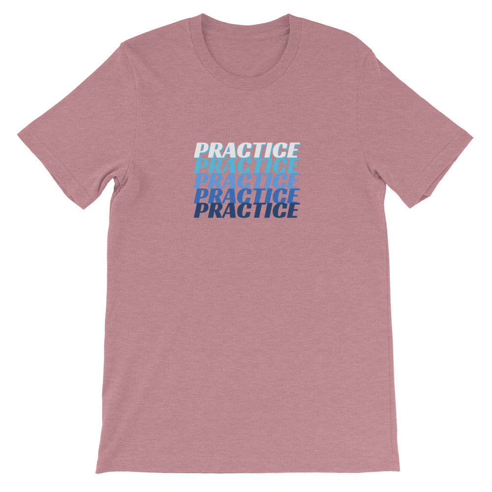 PRACTICEx5 Mens Tee-Mens-Conway + Banks Hockey Co.-Heather Orchid-2XL-Conway and Banks Hockey Co.