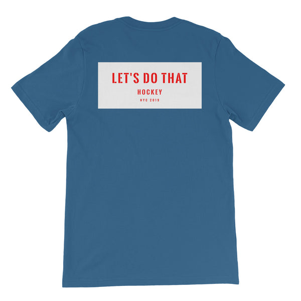 Lets Do That Hockey - Mens Tee-Mens-Conway + Banks Hockey Co.-Conway and Banks Hockey Co.