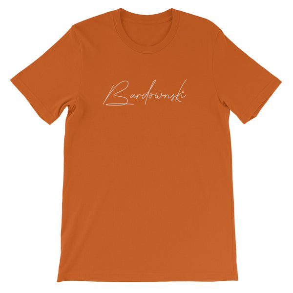 Bardownski Signature Mens Tee-Mens-Conway + Banks Hockey Co.-Autumn-S-Conway and Banks Hockey Co.