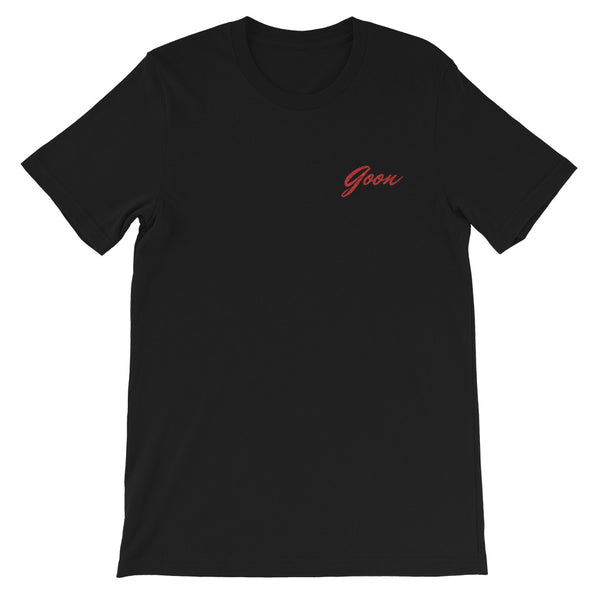 Goon Embroidered Mens Tee - Conway + Banks Hockey Co.