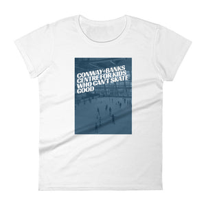 Center For Kids - Womens Tee - Conway + Banks Hockey Co.