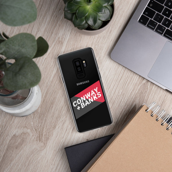 Falcon Graphite Red Samsung S Series Case