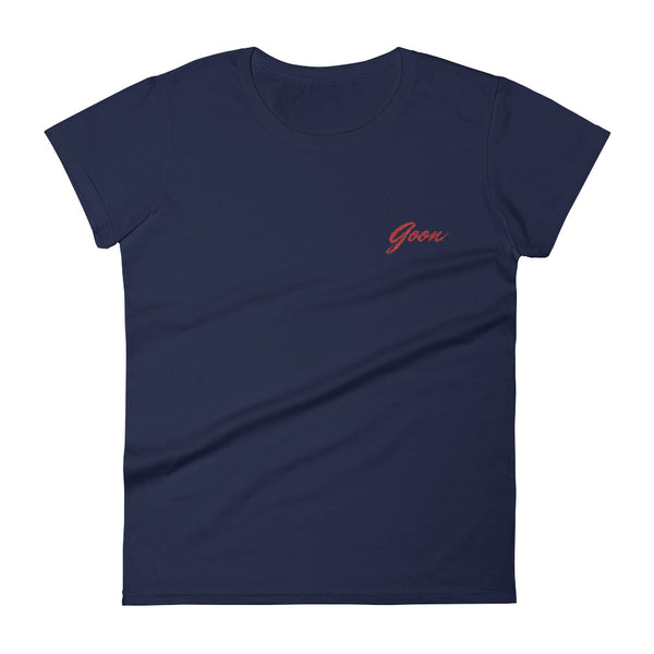 Goon Embroidered Womens Tee