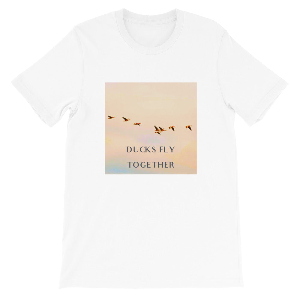 Ducks Fly Together Mens Tee - Conway + Banks Hockey Co.
