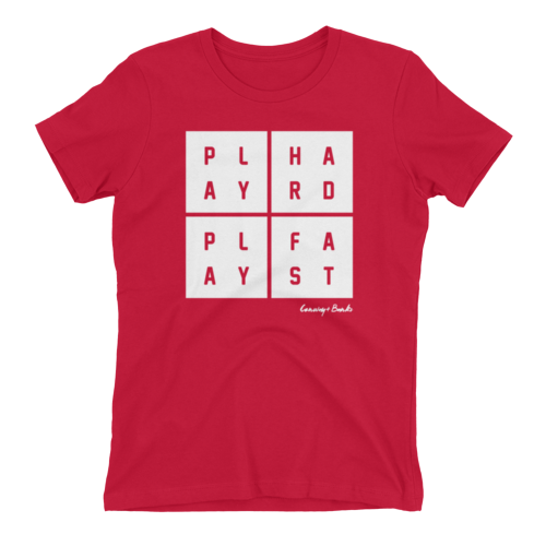 Play Hard Play Fast Mens Tee-Mens-Conway + Banks Hockey Co.-Red-Small-Conway and Banks Hockey Co.