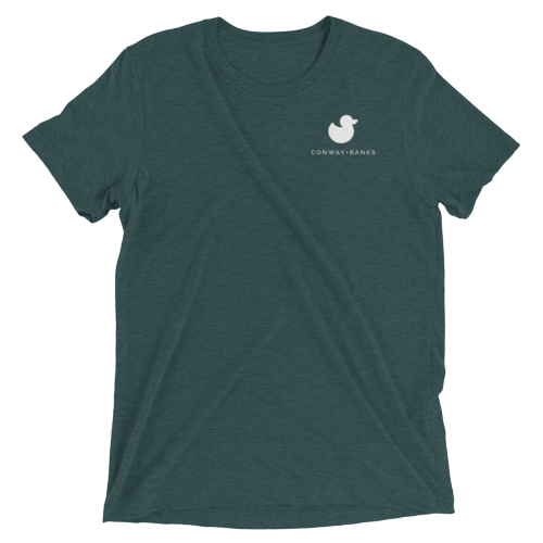 CB Duck Tee Mens-Mens-Conway + Banks Hockey Co.-Teal-Extra Large-Conway and Banks Hockey Co.