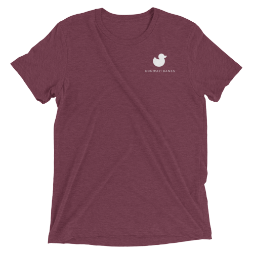 CB Duck Tee Mens-Mens-Conway + Banks Hockey Co.-Maroon-Small-Conway and Banks Hockey Co.