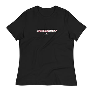 Womens Bardownski Core Tee Black - Conway + Banks Hockey Co.