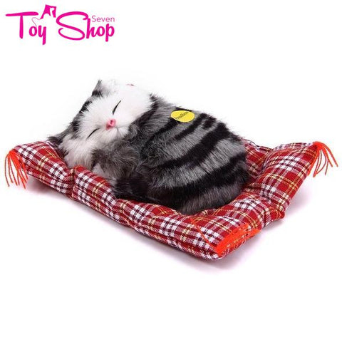Simulation Sleeping Toy Cat
