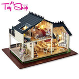 Magnificent Doll House with Pink Car