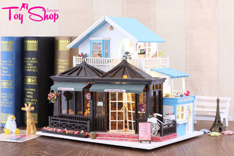 Bakery with Furnitures Dollhouse