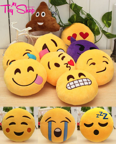 Emoji Decorative Throw Pillows