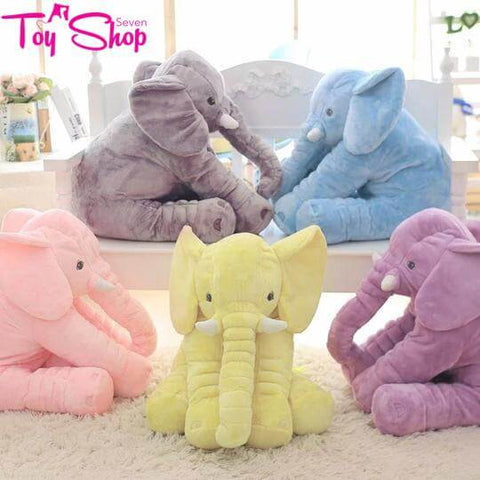 Large Plush Stuffed Elephant 40cm/60cm