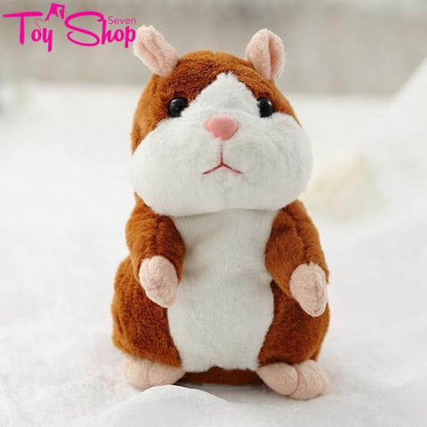 Talking Hamster Stuffed Animal