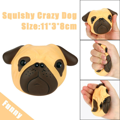 Exquisite Fun Crazy Scented Squishy 8cm Dog