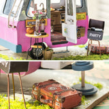DIY Happy Camper Wooden Doll House