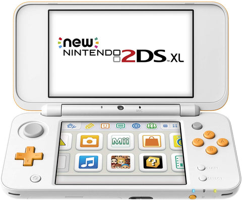 New 2DS XL (orange - white)