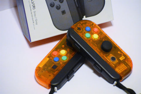 JoyCons Housing Mod - Fire Orange