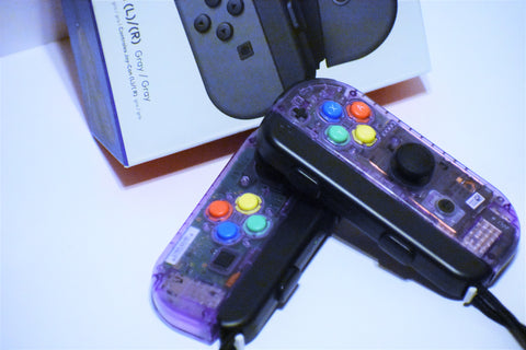JoyCons Housing Mod - Atomic Purple