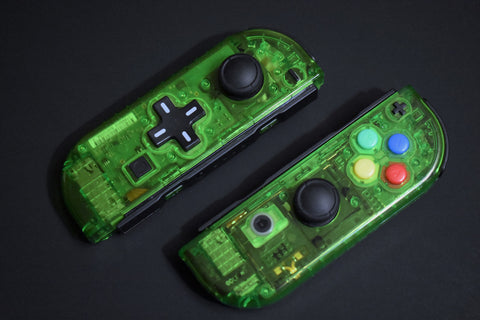 JoyCons Housing Mod - Clear Green