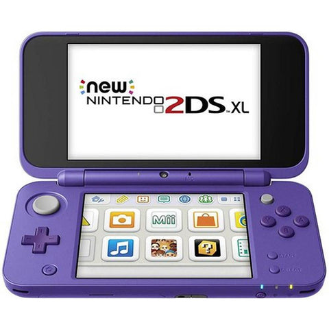 New 2DS XL (purple - silver)
