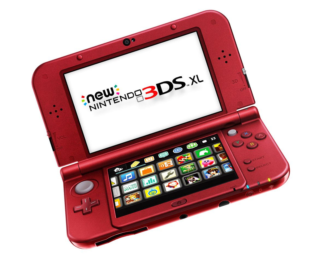 Buy Unlocked New 3DS XL (red) - PokEdit