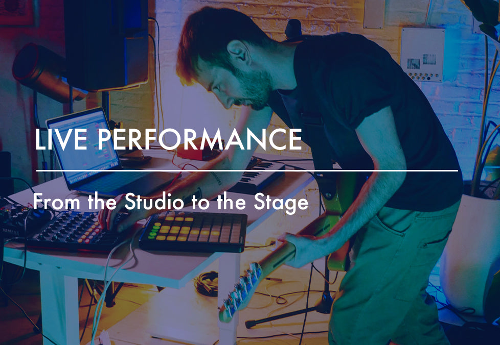 Live Performance: From the Studio to the Stage [Berlin]