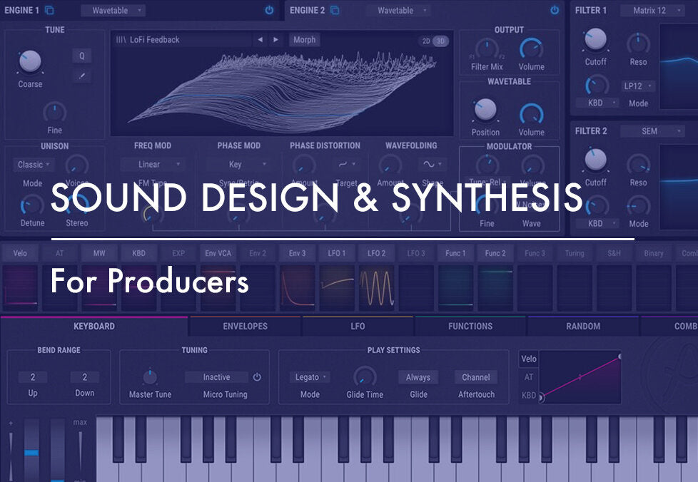 Sound Design & Synthesis For Producers [Berlin]