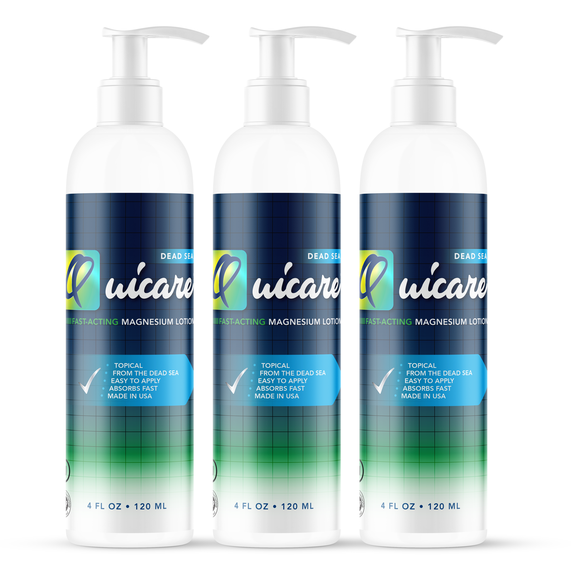 Fast-Acting Relief Formula LOTION - 4 oz 3 Pack - Quicare Store