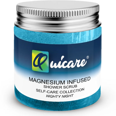 Magnesium Natural Salt Body Scrub Attack The Panic - Quicare Store