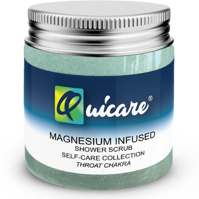 Magnesium Natural Salt Body Scrub Throat Chakra - Quicare Store