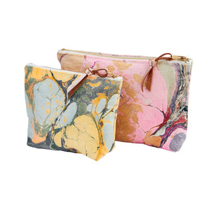 Astral Marbled Pouch Large