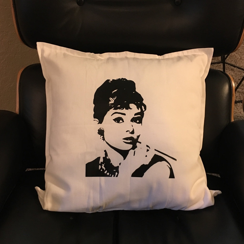 Audrey H Decor Pillow COVER ONLY
