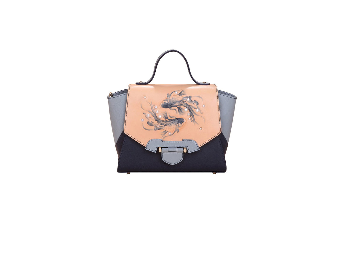 Fish Small Blue Satchel