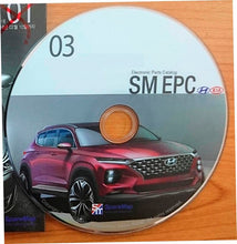 Load image into Gallery viewer, SM EPC Hyundai and Kia 01.2019 3.0 SPARE PARTS CATALOGUE SOFTWARE OBD