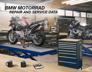 ✅BMW REPAIR AND SERVICE SOFTWARE MULTILANG DATA BMW MOTORRAD (RSD) 09.2016 OBD