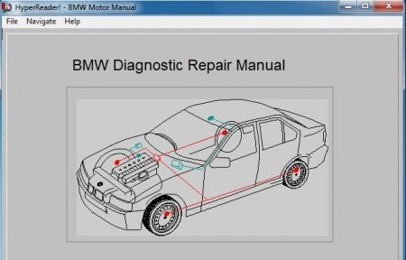 ✅BMW Diagnostic Repair Manual v.1.01 SOFTWARE