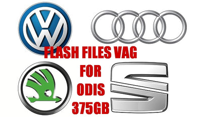 ✅ 09.2018 VAG Flash Files BIGGEST Collection 375GB OF DATA ODIS and VAS PC OBD OBD2