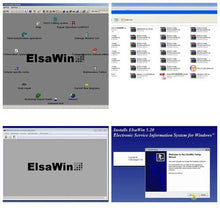 Load image into Gallery viewer, ✅ELSAWIN 6.0 2018 ELSA WIN 5.2 Workshop Service Repair Manual FOR VW SKODA AUDI SEAT VEHICLES