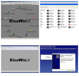 ✅ELSAWIN 5.3 2018 ELSA WIN 5.3 Workshop Service Repair Manual FOR VW SKODA AUDI SEAT VEHICLES