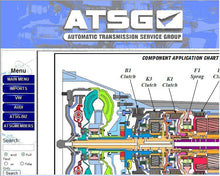 Load image into Gallery viewer, ✔️ATSG 2012 AUTOMATIC TRANSMISSION SERVICE GROUP