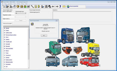 ✅Scania Multi 2018.10 SPARE PARTS CATALOGUE SERVICE REPAIR SOFTWARE