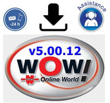 ✅Wurth WoW 5.00.12 OBD UNIVERSAL DIAGNOSTIC SOFTWARE SCANNER 2019